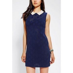 NWOT Urban Outfitters Navy Schoolgirl Dress